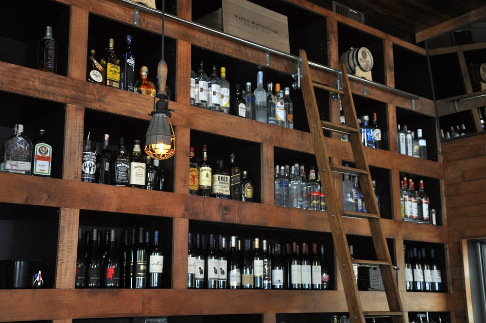 Rustic Bar at The Stubborn Mule Orlando