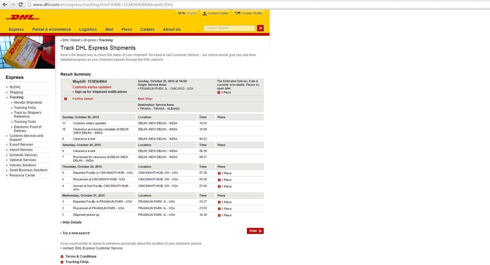 DHL Worldwide Express - 35 Reviews - Couriers & Delivery