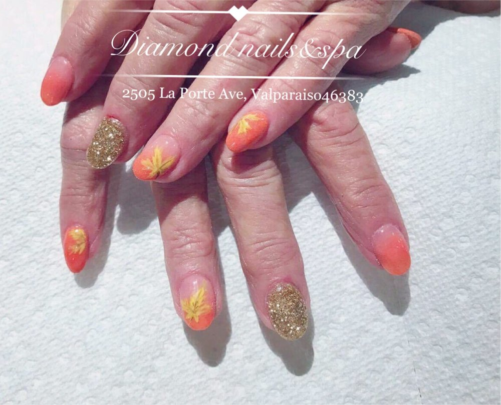 Nail design from Diamond Nails - Yelp