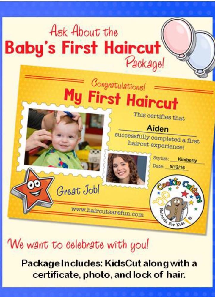 Babys First Haircut Package Is Adorable 1995 Yelp