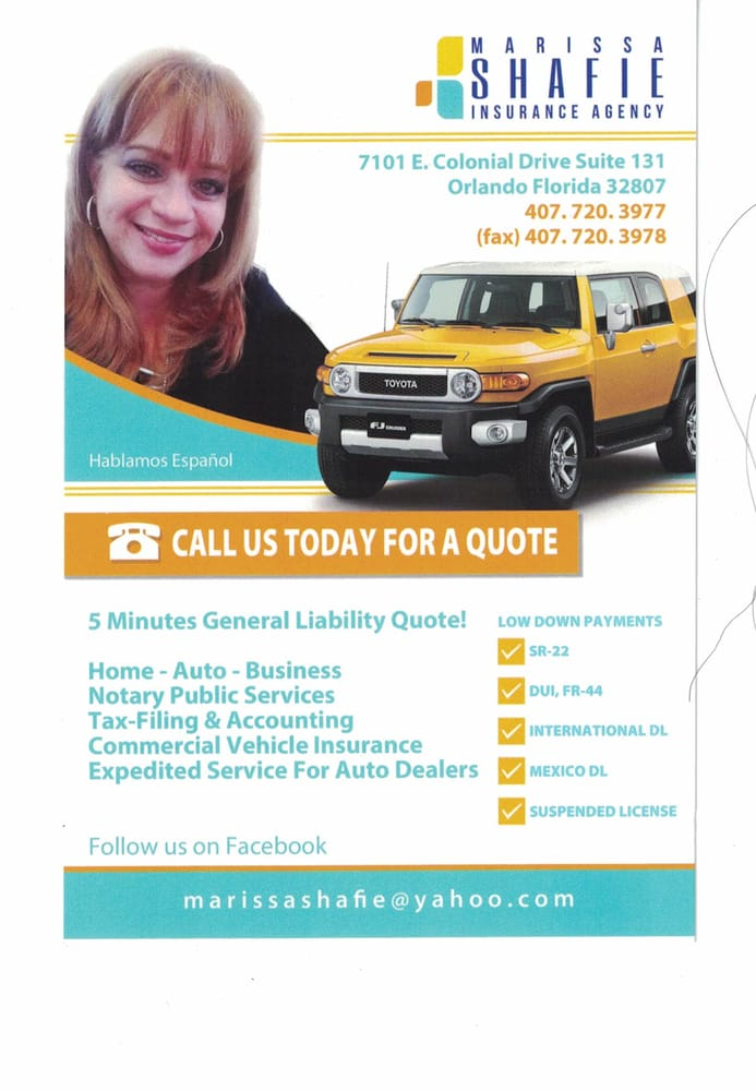 Marissa Shafie Insurance Agency - Get Quote - Home & Rental ...