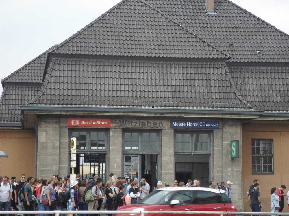 S bahnhof messe nord icc 17 fotos bahnhof neue for Wohndesign kantstr berlin