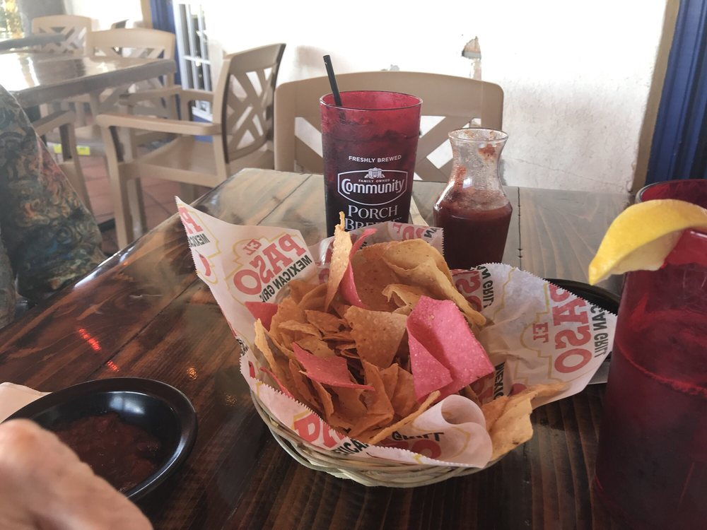 Food from El Paso Mexican Grill