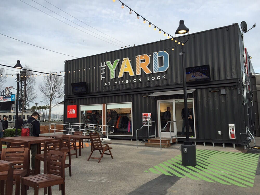 The Yard container