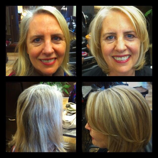 Highlights Lowlights On Gray Hair Yelp