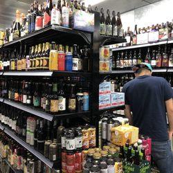 Photo Of El Cerrito Liquor   Corona, CA, United States. Walk In Freezer
