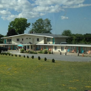Photo Of Miami Motel Canandaigua Ny United States View From Front Lawn