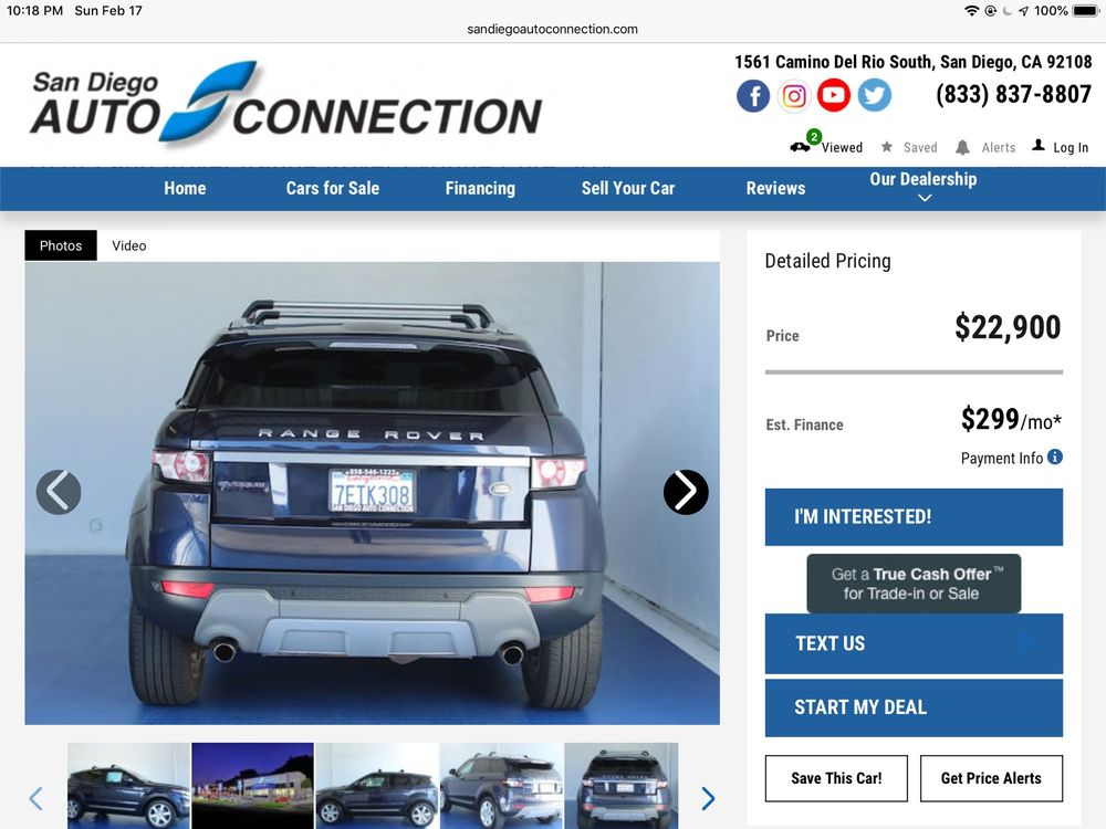 San Diego Auto Connection - 24 Photos & 311 Reviews - Used Car