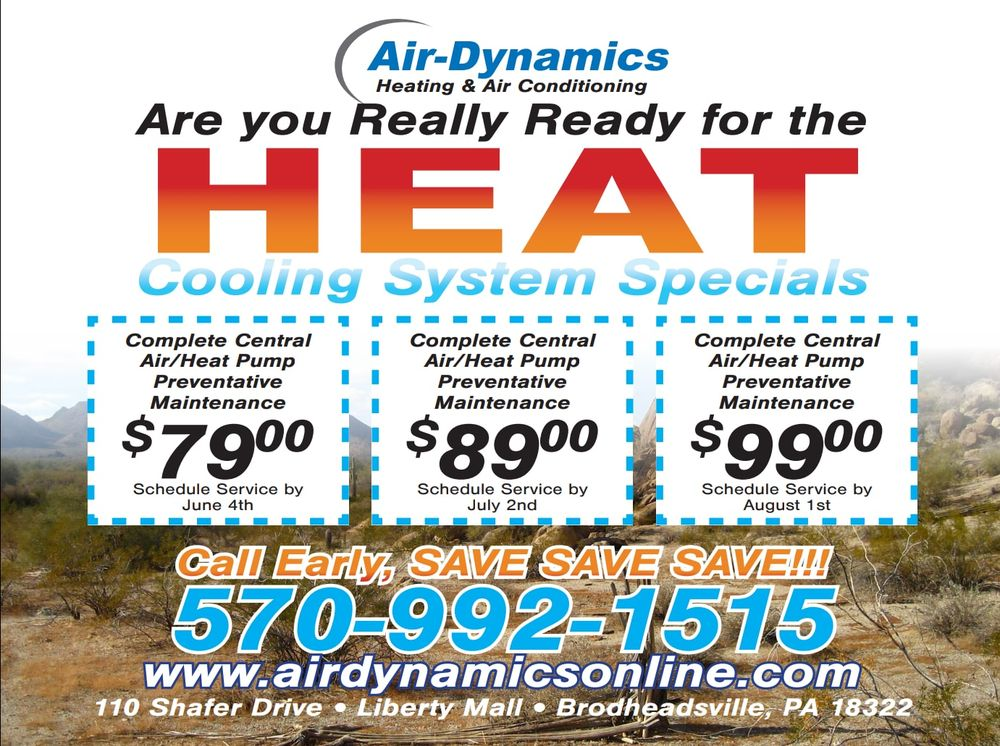Air-Dynamics Heating & Air Conditioning: 110 Shafer Dr, Brodheadsville, PA
