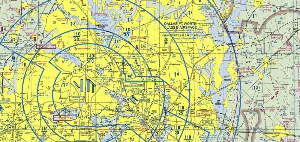Dfw Sectional Chart Can You Find Dallas Airpark Yelp