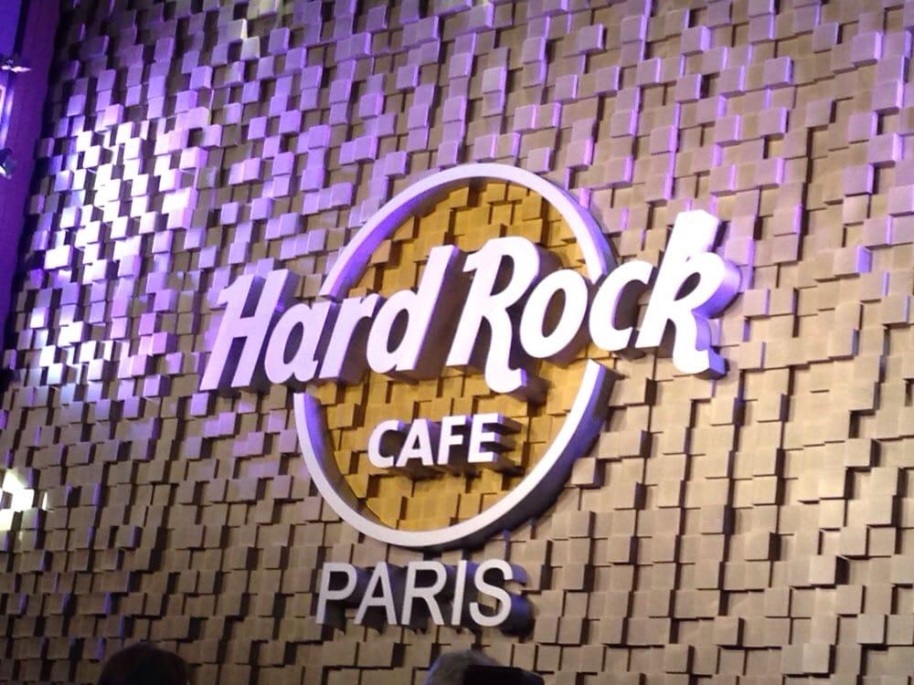 Hard Rock Cafe  Boulevard Montmartre