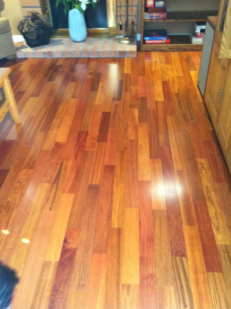 Lauzon Brazilian Cherry Hardwood Floors Professionally