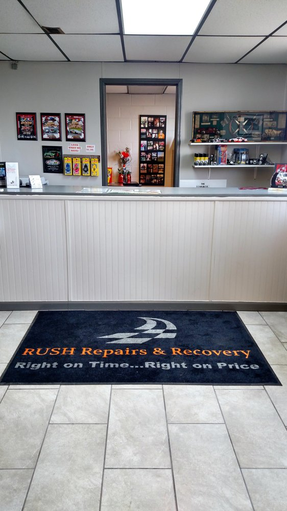 Rush Repairs & Recovery: 1137 E McPherson Hwy, Clyde, OH