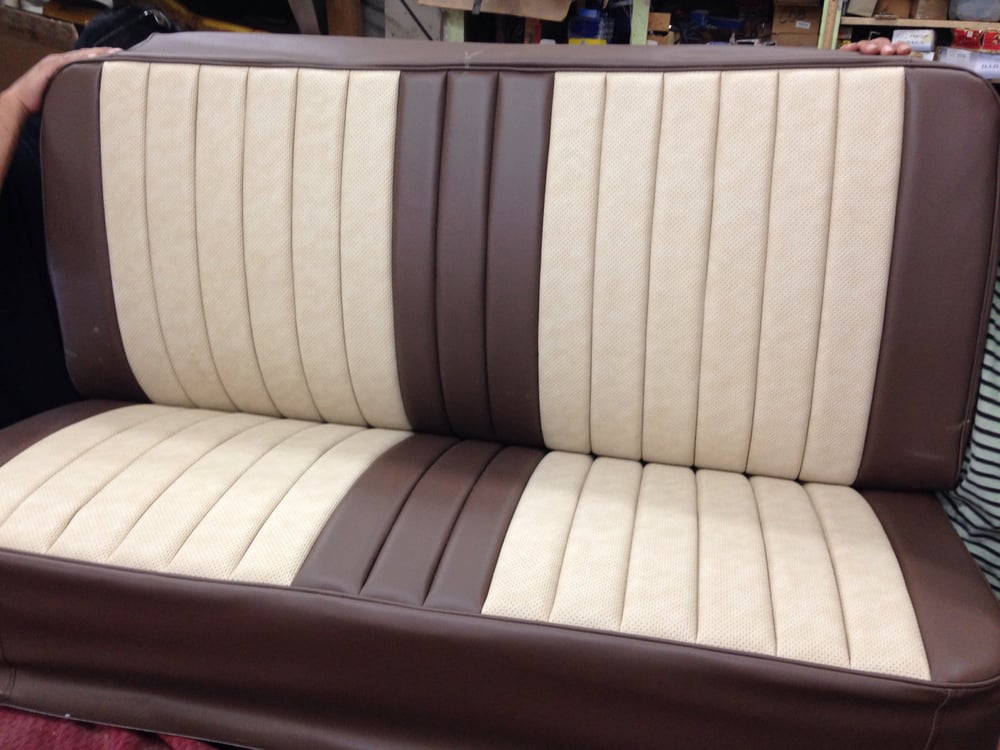 1952 Chevy Truck Bench Seat That Was Done For A Local