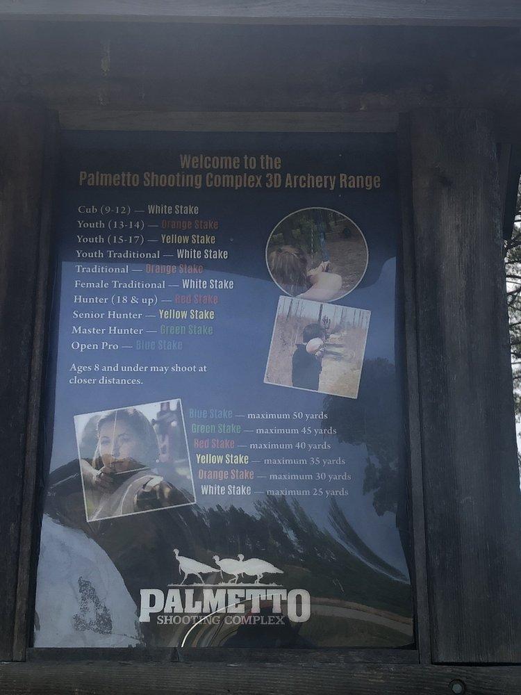 Palmetto Shooting Complex: 535 Gary Hill Rd, Edgefield, SC