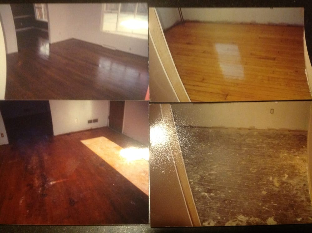 Before and after yelp for Pasadena floors
