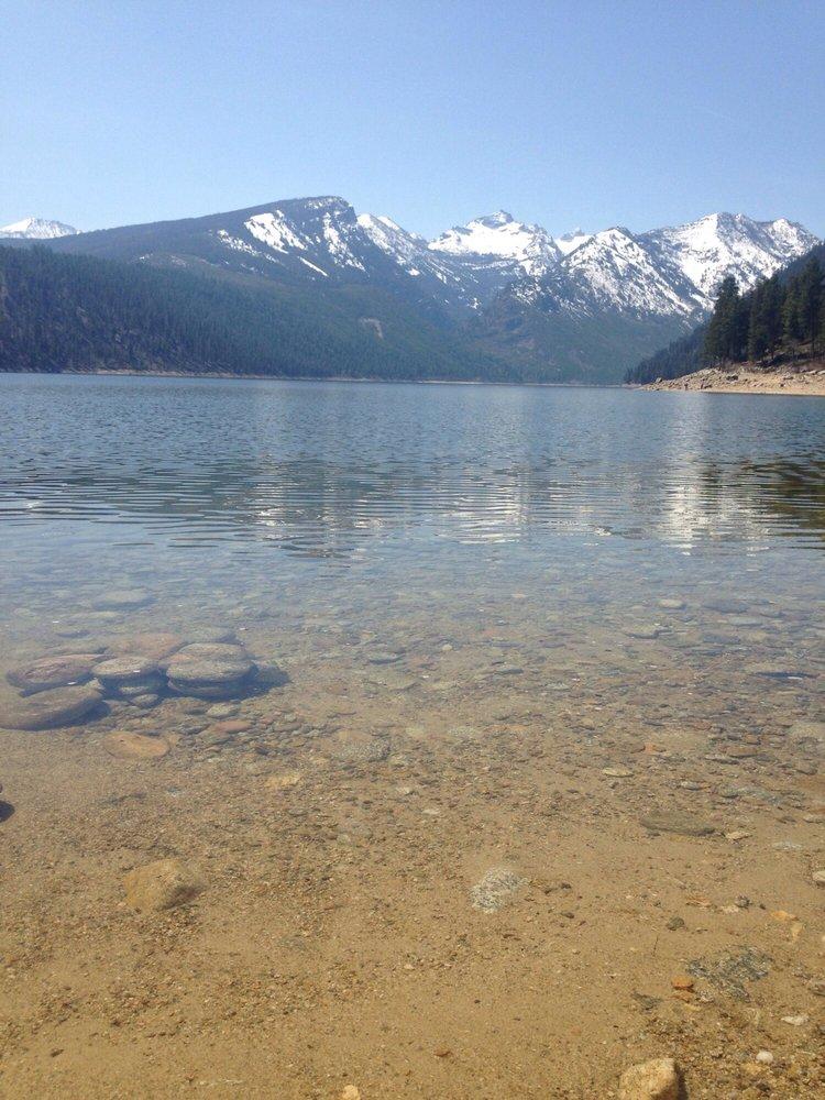 Como Lake: Darby, MT