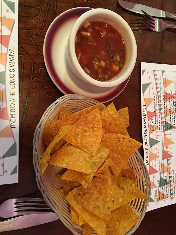 Food from Zapata