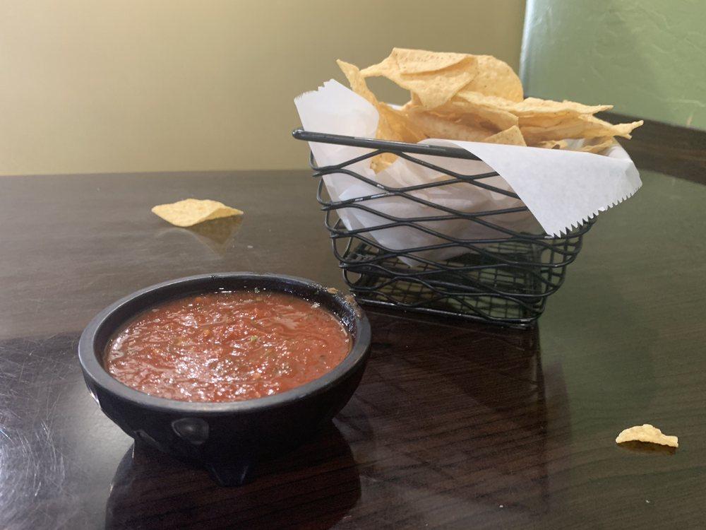 Food from El Jimador
