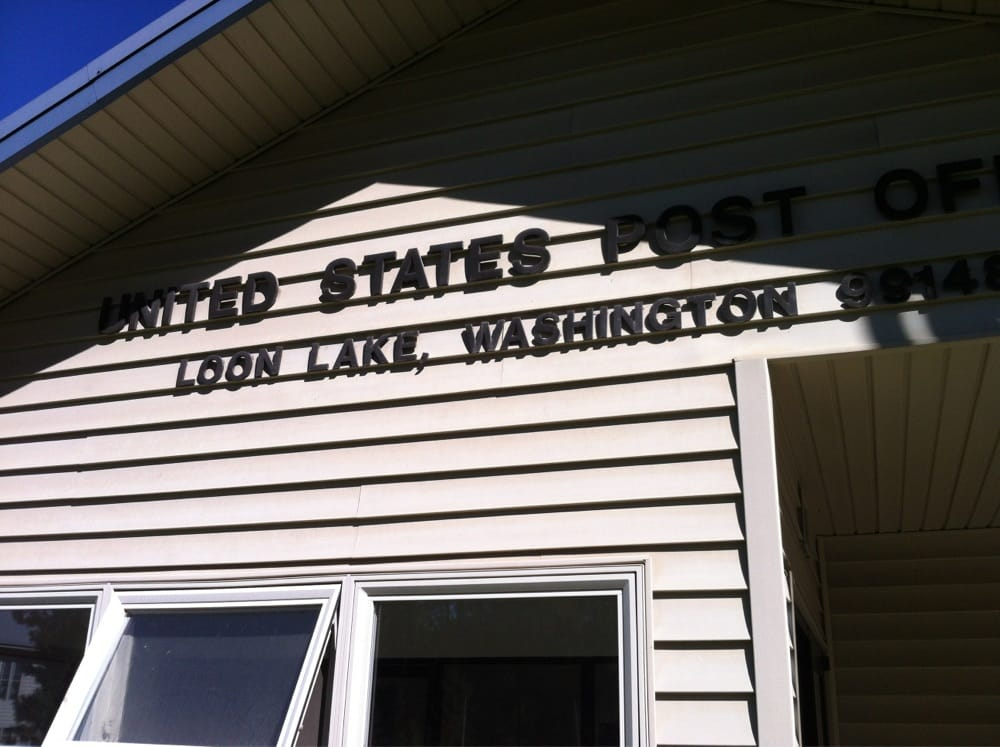 US Post Office: 3992 Colville Rd, Loon Lake, WA