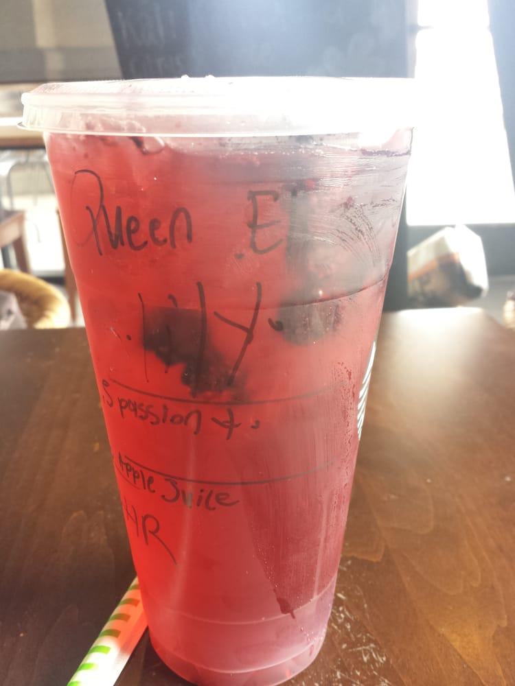 Very Berry Hibiscus Apple Juice Instead Of Water 5 Pumps Of
