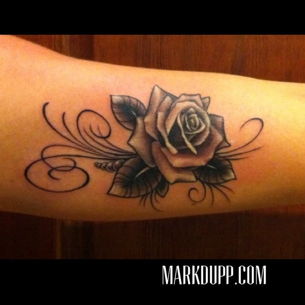 609bf47b2e9c2 Below we have collected the best pictures of the black rose tattoo gallery  from the internet to help you with your choice.Black Rose Tattooers Too has  been ...