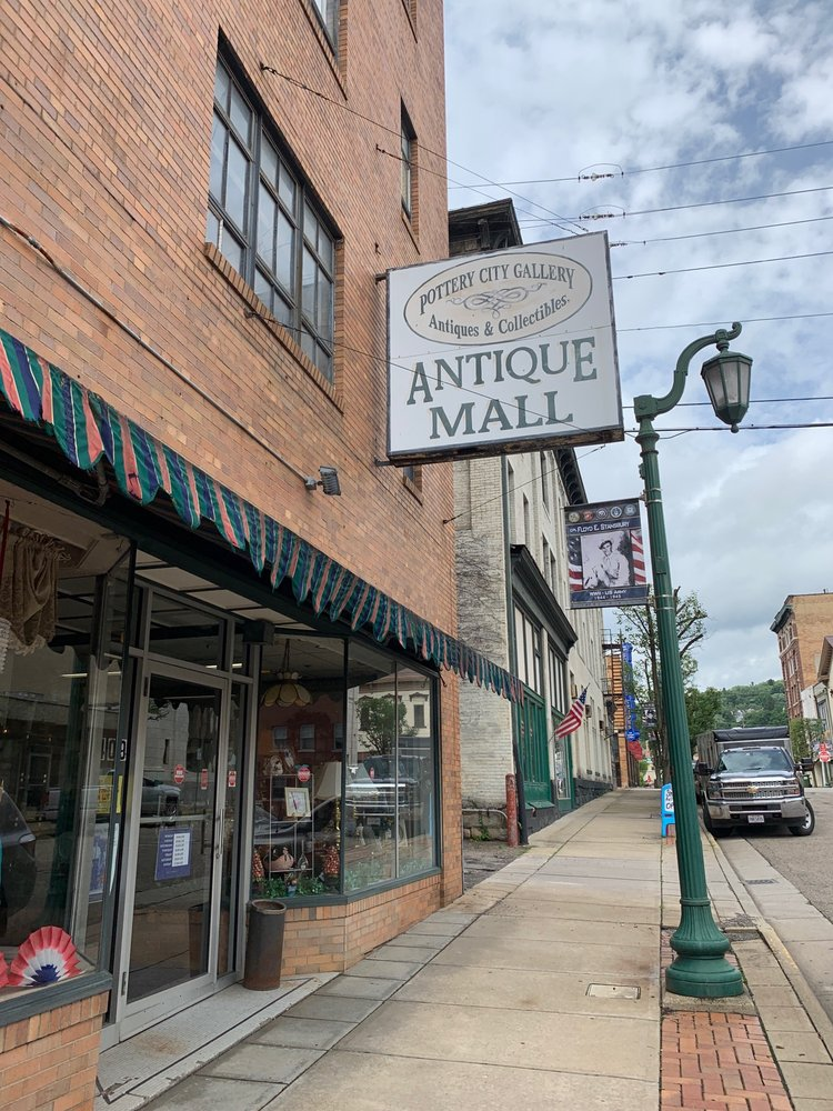 Pottery City Antique Mall: 409 Washington St, East Liverpool, OH