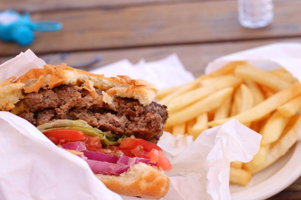 Jenny's Giant Burger: 940 N Main St, Fort Bragg, CA