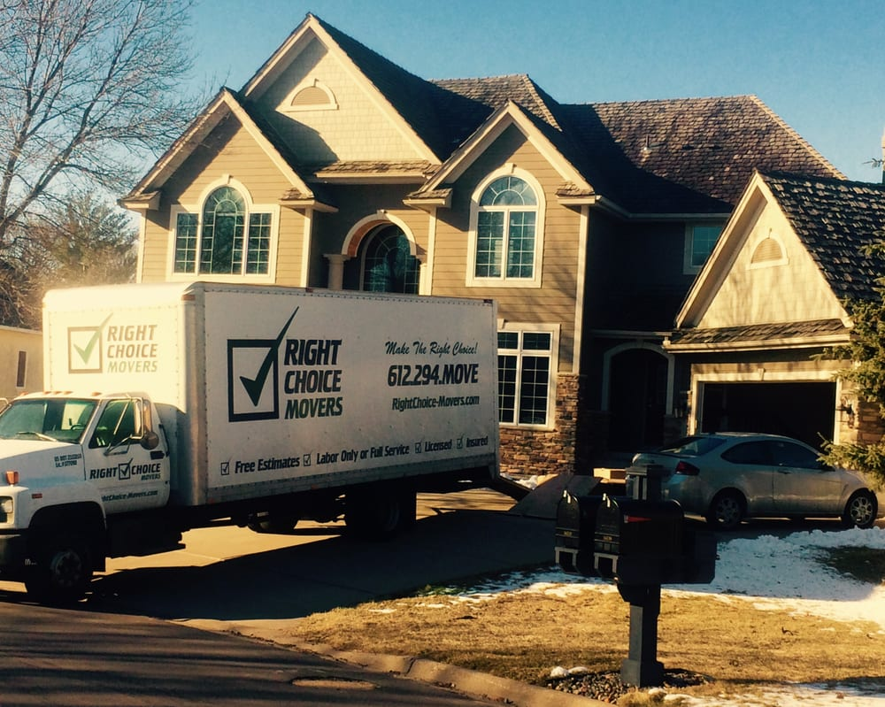 Right Choice Movers: 9300 52nd Ave N, New Hope, MN
