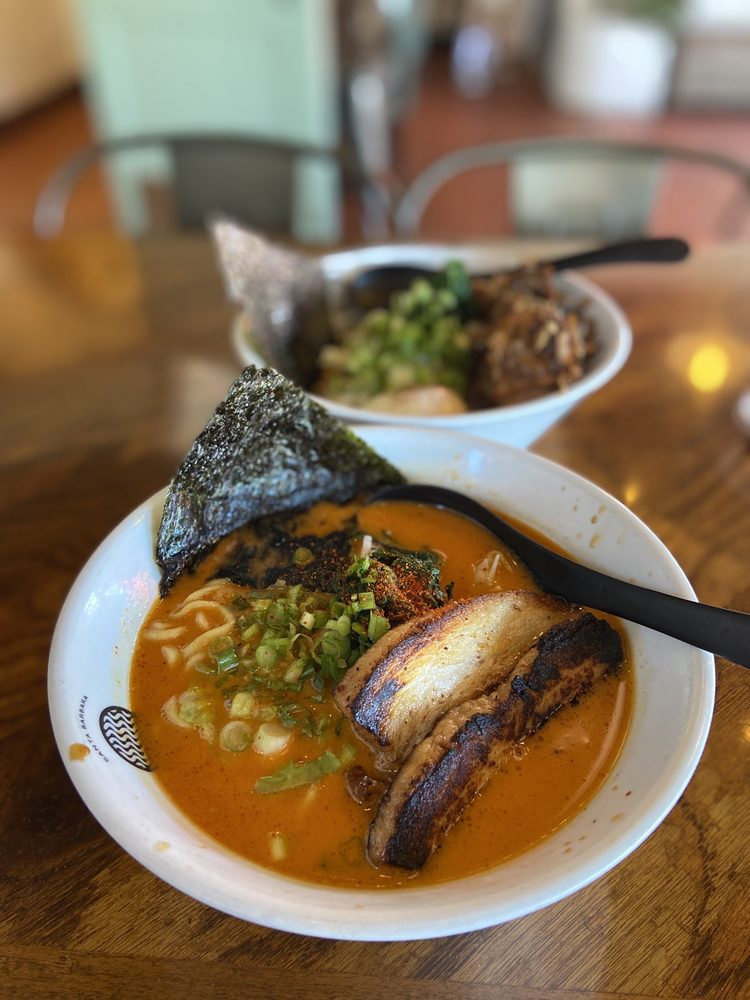 Food from Santa Barbara Craft Ramen