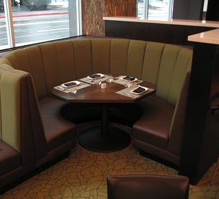 We Have Round Restaurant Booths For Sale This Classic