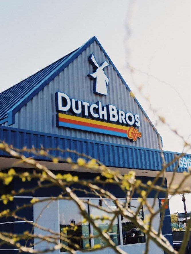 Dutch Bros Coffee: 115 N Redwood Hwy, Cave Junction, OR
