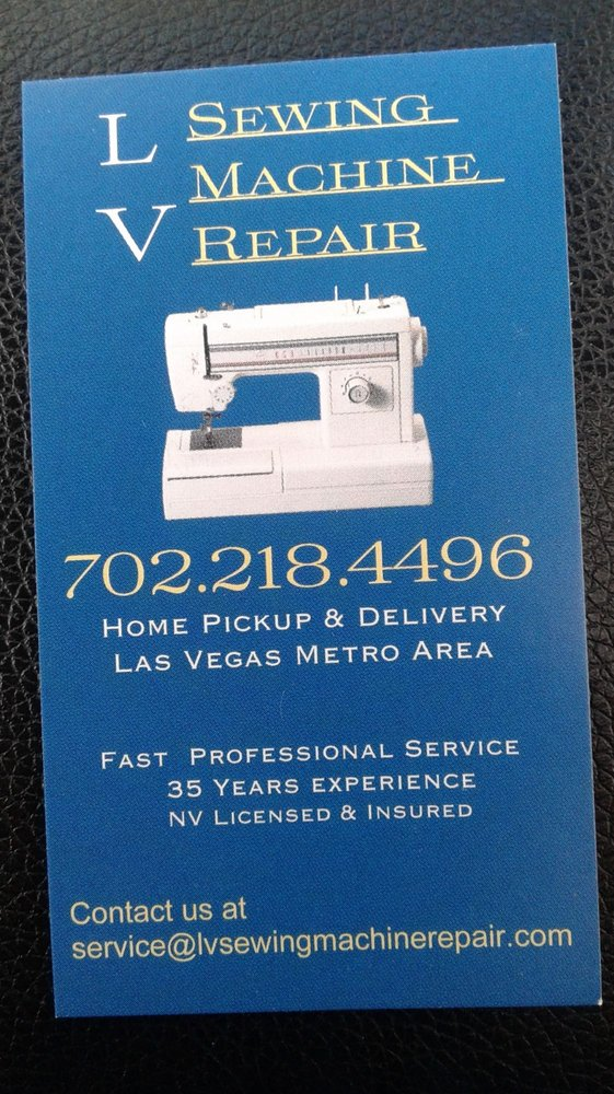 LV Sewing Machine Repair Appliances Repair 40 W Craig Rd Gorgeous Sewing Machines Las Vegas