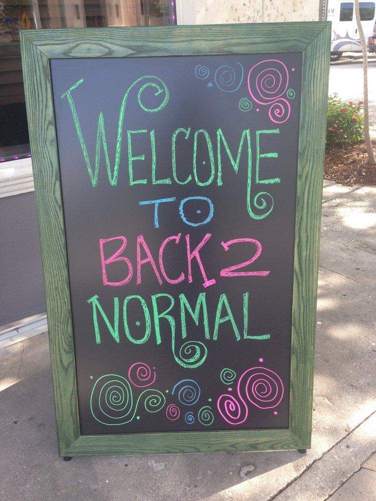 Back 2 Normal: 465 2nd Ave N, Saint Petersburg, FL