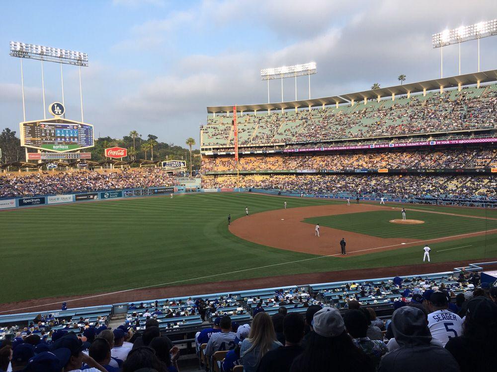Dodger Stadium Loge Terrace