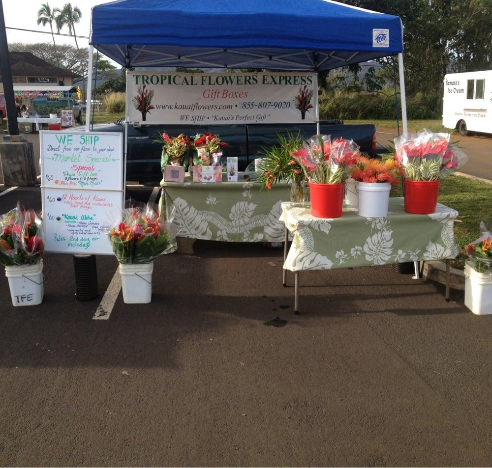 Tropical Flowers Express Florists 6721 Kawaihau Rd Kapaa Hi