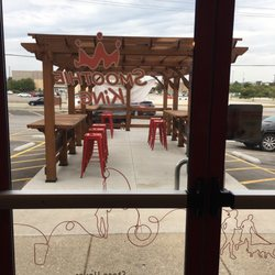 Photo Of Smoothie King   Merrillville, IN, United States. Outdoor Patio And  Parking