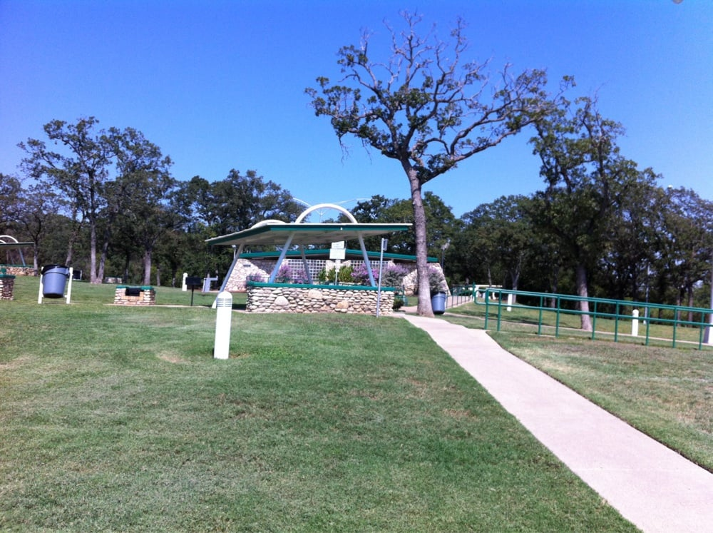 Rest Area: I-35W, Burleson, TX