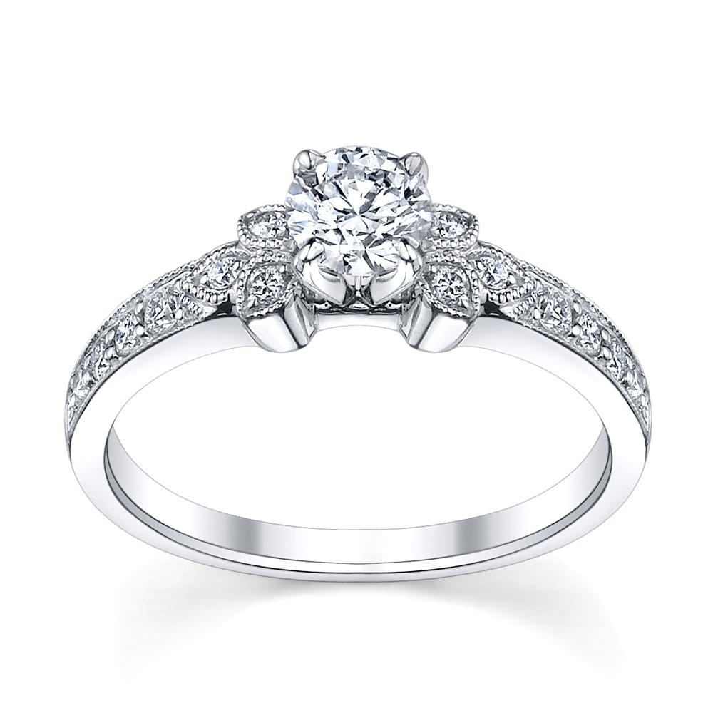 exclusive utwo engagement ring from robbins brothers sku