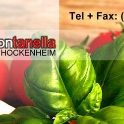 Pizzeria fontanella hockenheim italienisch robert koch for Koch italienisch
