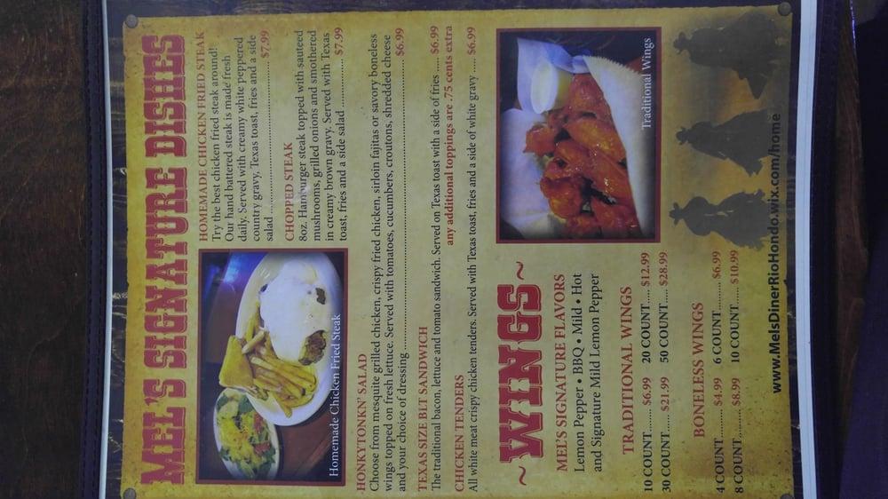 Mel's Diner: 31164 Fm 106, Rio Hondo, TX