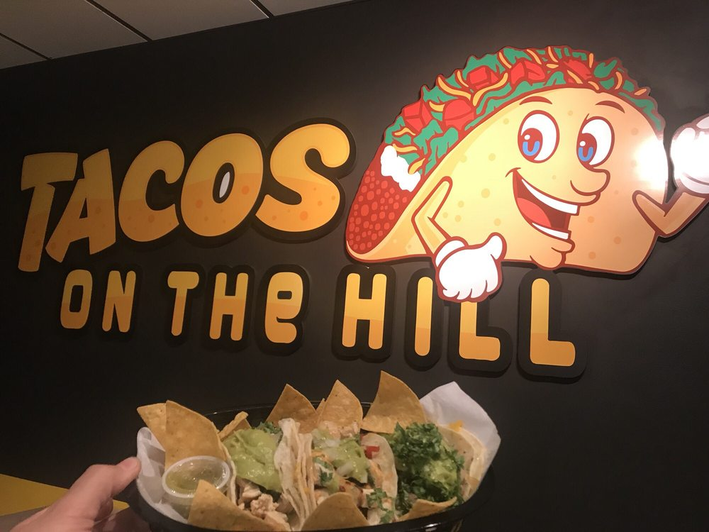 Food from Tacos On The Hill