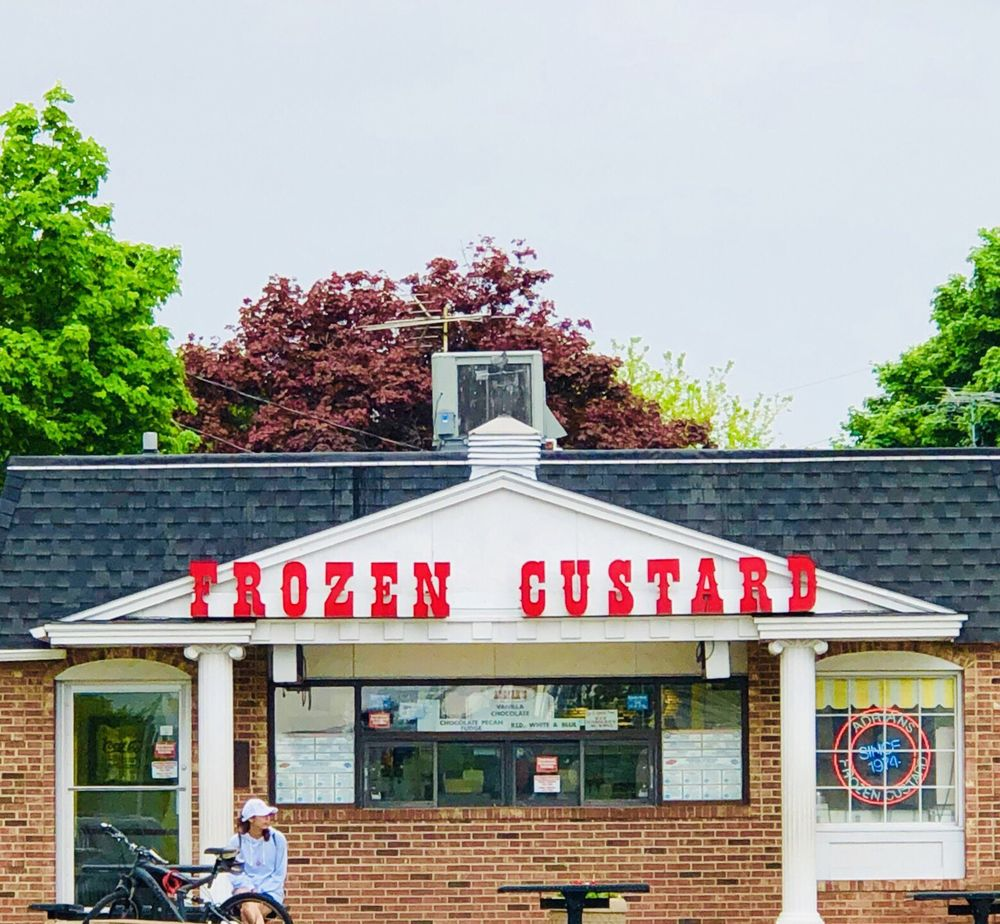 Adrian's Frozen Custard: 572 Bridge St, Burlington, WI