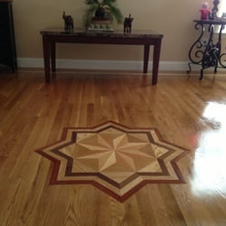 Photo Of Bruceu0027s Hardwood Floors   Raleigh, NC, United States. Custom Inlay  Medallion