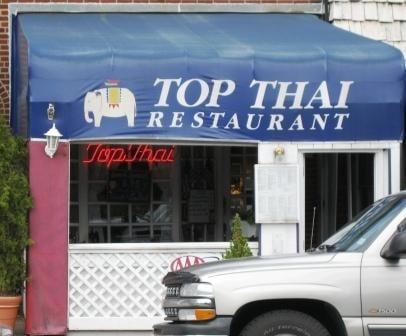 Top thai exterior yelp for Arlington thai cuisine
