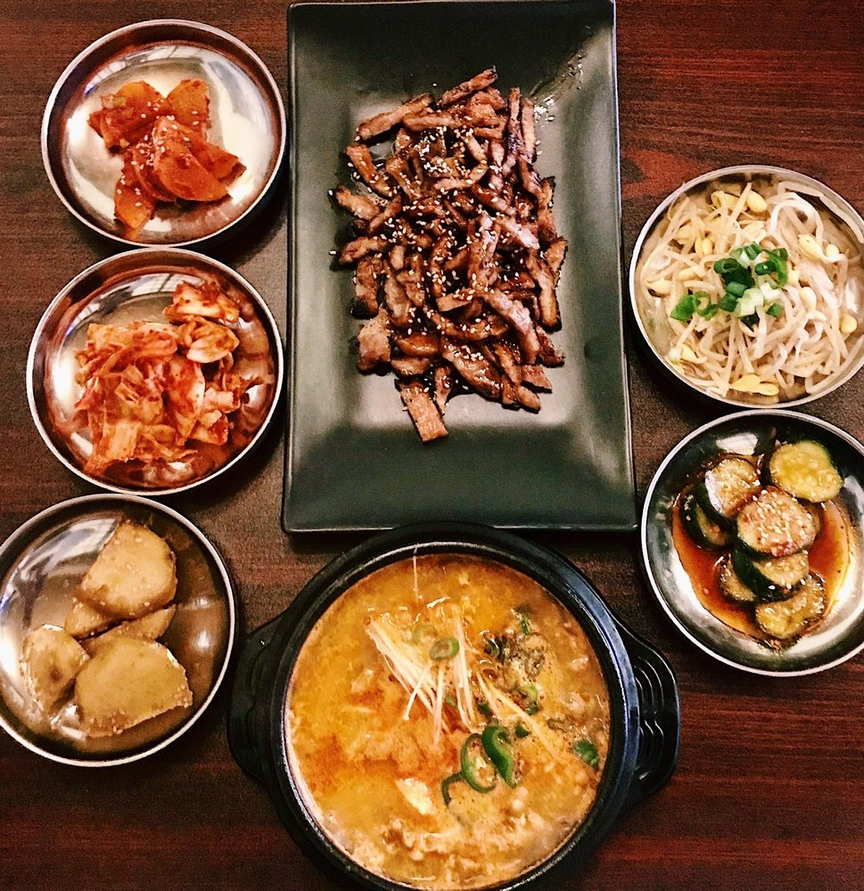 Food from Kimchi House