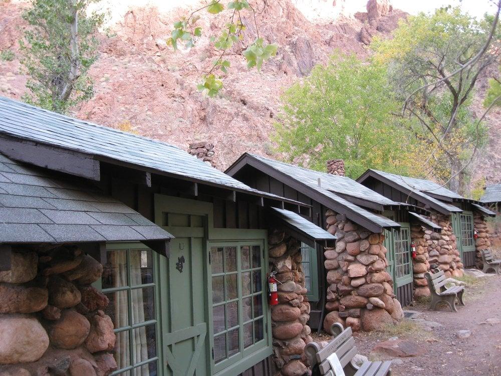 Hiker Cabins At Phantom Ranch Grand Canyon Az Usa Yelp