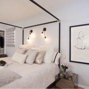 bedroom photo of studio 9 interior design los angeles ca united states