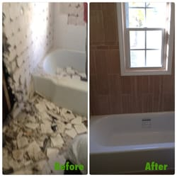 Professional Tradesmen Construction Services Photos - Bathroom remodel west hartford ct