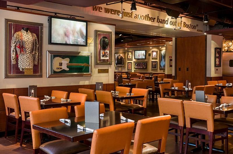 Hard Rock Cafe Clinton Street Boston Ma